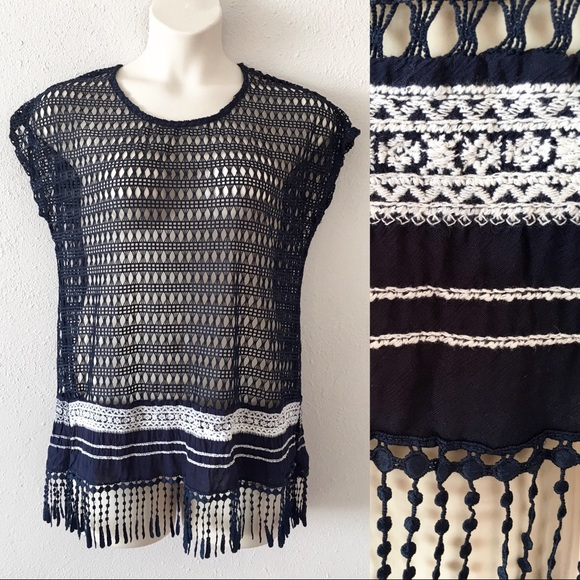 71635292c44 Maurices crochet embroidered top with fringe. Maurices.  M 5c4f67adc61777dfca8c9bbd. M 5c4f67bd3c98447f10dd3053.  M 5c438c6d12cd4ae6ac980698